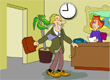 Punctuality 2 cartoon