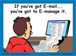 Managing Email poster